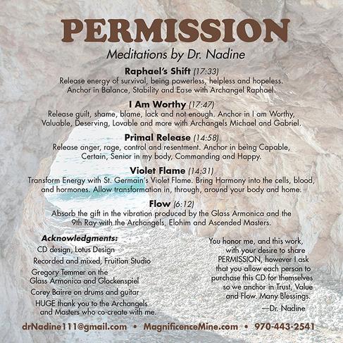 PERMISSION Meditations (71 min. MP3)