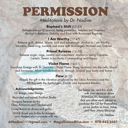 PERMISSION Meditations (71 min. MP3)